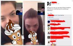 Girlfriend Facetimes Ex-Boyfriend While Blowing a Dude But The Ex Gets Revenges!!