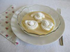 Vanília sodó - egyszerűen készítve - Háztartás Ma Pudding, Food, Essen, Puddings, Yemek, Meals