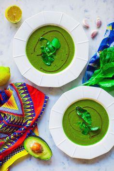 Hemsley + Hemsley recipe: Green Smoothie Soup