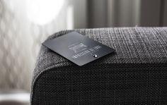 Impression de Luxe – Carte de visite noir mat
