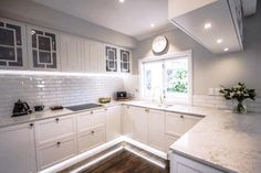 Beautiful white kitchen with a mix of contemporary and traditional feel. Custom designed and made cabinetry with brass detail. New Zealand made kitchen Traditional Kitchen, Custom Design, Kitchens, Kitchen Cabinets, Brass, Contemporary, Interior Design, Detail, Beautiful