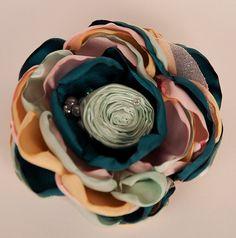 Around The Garden boutique hair clip M2M by McKenzieGraceDesigns, $14.99