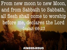 Isaiah 66:23