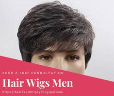 Hair Wigs For men - Get rid of your Hairbaldness issue now ! Hair Wigs For Men, Wig Hairstyles, Rid, Health, Women, Health Care, Salud