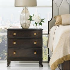 Crestaire - Ladera Night Stand in Porter - 436-13-80 - Stanley Furniture - Bedroom - Modern Furniture