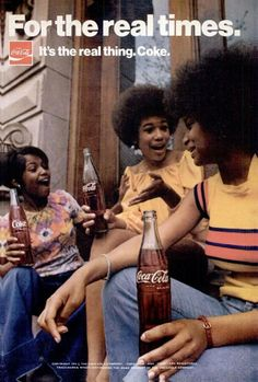 Coke commercial 1970s