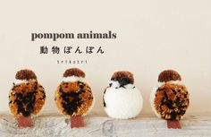 My Owl Barn: Japanese Artist Makes Most Adorable Pompom Animals