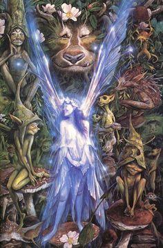 Brian Froud Fantasy Art in fairy by