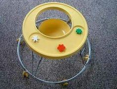 Image detail for -baby walker retro yellow saucer walker. My oldest son had this same walker! My Childhood Memories, Sweet Memories, Nostalgia, Oldies But Goodies, Ol Days, Do You Remember, My Memory, The Good Old Days, Vintage Toys