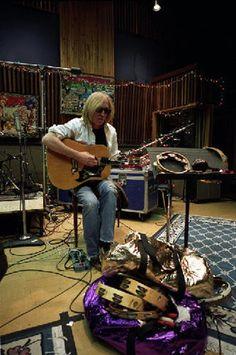 Tom Petty at work