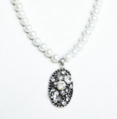 art deco clear crystal swarovski rhinestone tibetan by sestras, $40.99