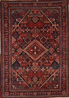 Persian Hand-Knotted Maymeh Rug in Wool (Cotton Foundation) - Ref: 1754 - 2.00m x 1.38m