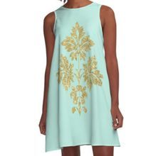 A-Line Dress Birds of a feather save sitewide together. Casual Wear Women, Dress Up, Summer Dresses, Stylish, Floral, Fitness, Fabric, People, Model