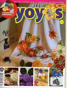 222 Revista cultural Manulidades-Yoyos n. 134 - maria cristina Coelho - Álbuns da web do Picasa
