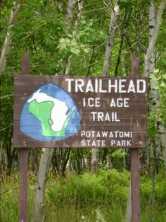 the Ice Age Trail, WI