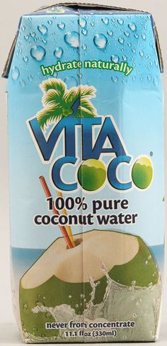 Vitacoco Coconut Water is the best natural energy drink. Tons of potasium, electrolytes and various other health benefits. I stocked up at vitacost.com, because they have it for the lowest price anywhere. #vitacostfoodie