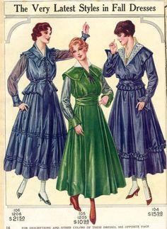 1916 Catalog Illustrations | Sense & Sensibility Patterns