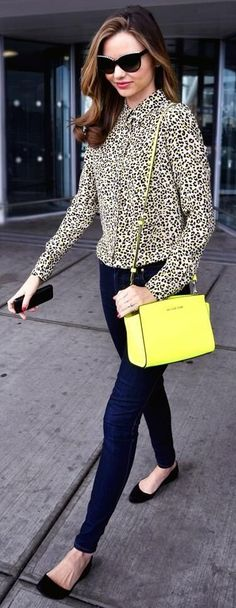 Style Inspiration for the Bonjour Cafe Print Blouse // July/August 2013 Golden Tote