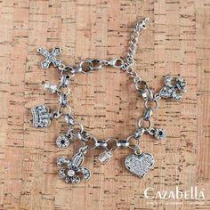 Stunning antique finish charmed bracelet. B004-02 @ R215    #jewelry #fashionista #cazabella #stylish #hearts #crucifix #accessories #trendy ronel.cazabella@yahoo.com Crucifix, Hearts, Charmed, Antiques, Stylish, Bracelets, Accessories, Jewelry, Fashion