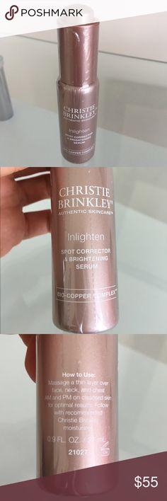 Selling this Christie Brinkley Inlighten Brightening Serum on Poshmark! My username is: dolceluxe. #shopmycloset #poshmark #fashion #shopping #style #forsale #Christie Brinkley #Other