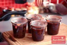 #przepis na konfiturę: truskawka z rabarbarem czyli idealne zestawienie smaków sezonowych na lato  http://pozytywnakuchnia.pl/truskawka-z-rabarbarem/  #kuchnia #truskawki #rabarbar #przetwory