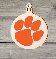 College Gifts, Grad Gifts, Yeti Decals, Vinyl Decals, Wood Ornaments, Christmas Ornaments, Clemson Tiger Paw, Jingle All The Way