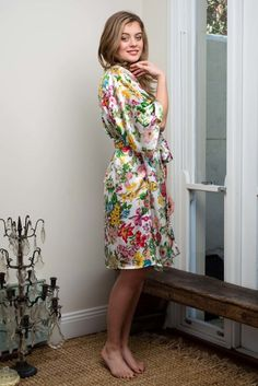 Australian brand Ivy & Matilda designs beautiful handmade silk, lace and cotton voile kimono robes. We specialise in bride and bridesmaid robes. Made in Australia, Worldwide shipping available. Bridesmaid Robes, Brides And Bridesmaids, Silk Kimono Robe, Bridal Robes, Looking Stunning, Pure Silk, Silk Fabric, Matilda, Pure Products