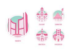 City Halls of Canada by Olivia Truong