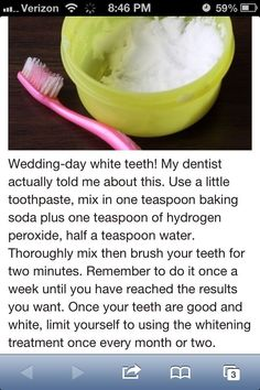Dental hygiene is a vital reason for your present health care program. Find out more about how to take proper care of your teeth. Beauty Care, Diy Beauty, Beauty Skin, Homemade Beauty, Beauty Secrets, Beauty Guide, Beauty Tricks, Beauty Ideas, Beauty Habits