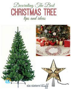 Decorating The Best Christmas Tree Tips and Ideas from Six Sisters' Stuff