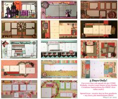 CTMH Scrapbooking Kits - Instructions available! - www.stampinbuds.com