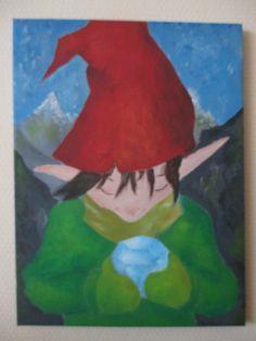 Dwarf with gem