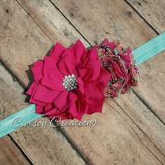 Hey, I found this really awesome Etsy listing at https://www.etsy.com/listing/230835463/flower-headband-shabby-chic-couture