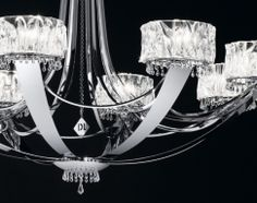 Chandelier, collection Crystal Blade by Dolce Vita, IDL…