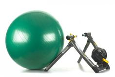 One hour bike trainer and core workout.