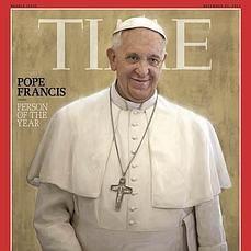 El Papa, personaje del año 2013 para la revista «Time»