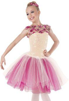 Weissman™ | Rosette Iridescent Sequin Ballet Dress