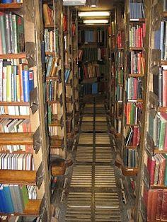 London Library back stacks