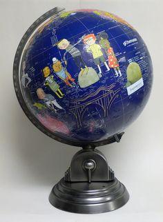 custom iggy peck globe
