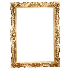 gold ornate frames- just mini ones too!