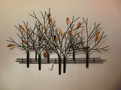 18 Wall Decorations That Will Inspire You. Metal Tree Wall ArtMetal ...