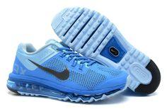 Nike Air Max 2013 Royal Blue/Grey/Black Men's shoes