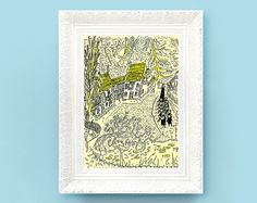 Vintage Madeline Print Original French Book by ThePrintMakers, $3.50
