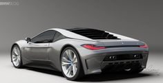 2015 BMW M1 Design Study shows a futuristic supercar