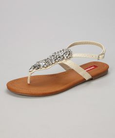 Cream Perri Sandal | something special every day