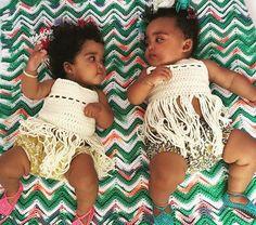 Baby Fringe Crochet Top