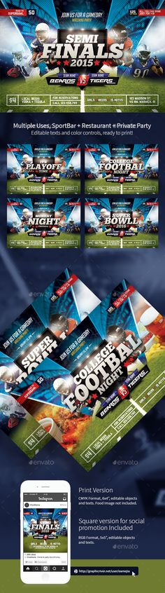 Final Stage Bicycle Sports Flyer Fully, Models and Sports - football flyer template