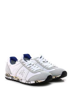 PREMIATA - Sneakers - Donna - Sneaker in tessuto tecnico e camoscio con  suola in gomma c9ac275e178