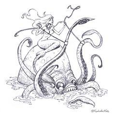 Krakens y sirenas