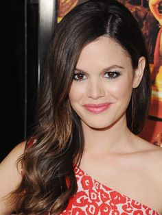 Famous Actress Rachel Bilson From The OC Of Dixie Tv Shows with her Dr.Pepper Lip Smacker Lip Gloss.